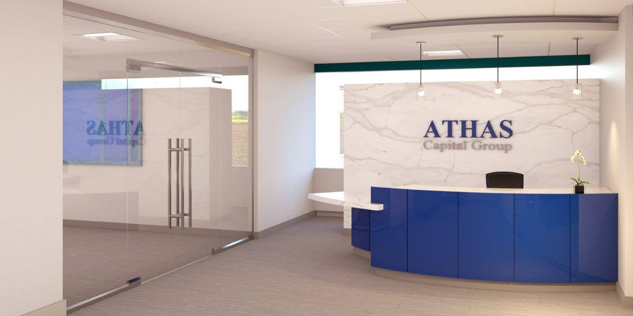 Athas Capital Group Entry Way